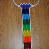 Rainbow Kandi Tie