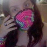 My First Kandi Mask! :P