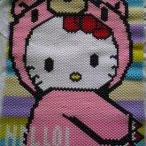Hello Kitty Gloomy Bear Finished