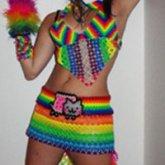 My Kandi Outfit :3