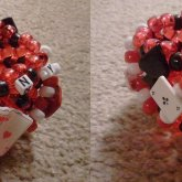 Queen Of Hearts 3D Cuff