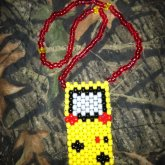 Pika Gameboy Necklace For Cassie!