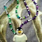 Penguin Necklace For Cass!