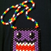 Rainbow Domo Necklace For Cass