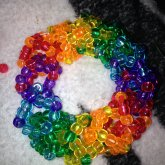 Rainbow Cube Cuff