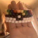 Rainbow Pokieball Bracelet