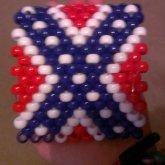 Rebel Flag Cuff I Made For A Trade :p