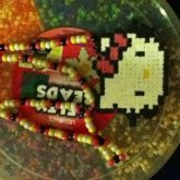 Hello Kitty Perler Necklace