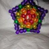 Rainbow 3d Star