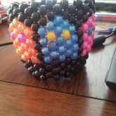 My Pacman Kandi Cuff I Love It But Its To Big For Me Lolz