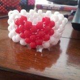 I Got Bored One Day So I Made A Heart Cuff
