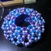 Purple And Blue 3d