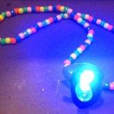 Light-Up Binky Necklace
