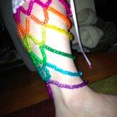 My Kandi Leg Warmers