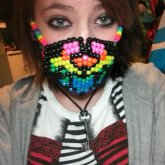 Rainbow Biohazard Surgical Mask