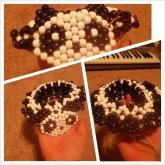 Black And White Panda Upper Arm 3D