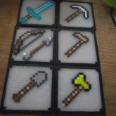 Minecraft Coaster Set