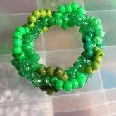 Green Kandi Chain Bracelet