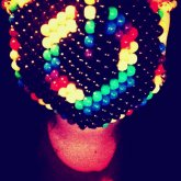 Rainbow Power Symbol Mask