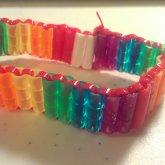 Rainbow Perler Bracelet
