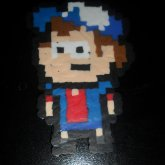 Dipper Perler That I Am Extremely Proud Of