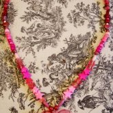 Mega Pink-tastic Heart Necklace (Almost Completed)