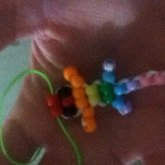 Rainbow Baby Gecko