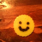 Perlerbead Smille Face 2 Yellow