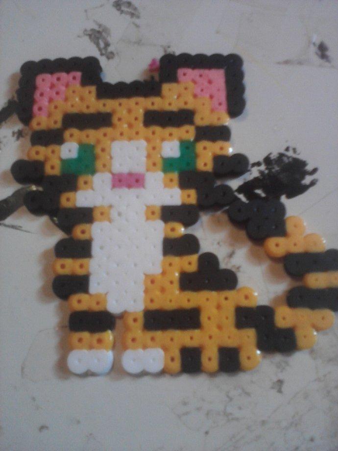 fuse bead tiger cub by starcat000 kandi photos on kandi