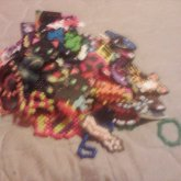 All My Kandi In A Big Ass Pile