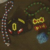Avengers Captain America Necklace Umbreon surgical mask Iron man inspired bows Tesseract and Loki themed necklace