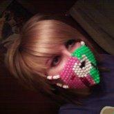 My First Kandi Mask :D So Proud Lol