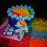 Rainbow Dash Cuff With Figure