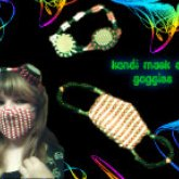 Kandi Goggles And Mask Together :P