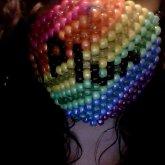 Rainbow Plur Surgeon Mask