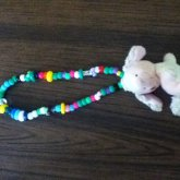 Stuffed Puppy Necklace.