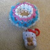 Hello Kitty Cage Cuff (2)