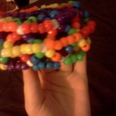 Rainbow Cage Cuff