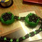 Green & Black Goggles