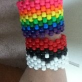 First Two Cuffs I Ever Made