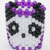 Glow In The Dark Panda Cuff