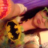Batman Peyote , Cuff And Green Nerdy Glasses