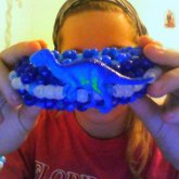 Blue Dino Cuff