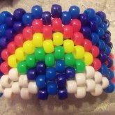 Unicorn Cuff With Rainbow  (back)