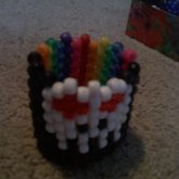 Half Rainbow Half Skull