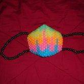Glow In The Dark Rainbow Melt Mask