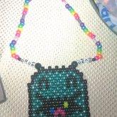Drop Dead Ghost Necklace