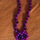 Purple/black Skull