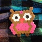 Fuse Bead Owl