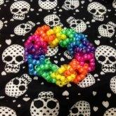 Rainbow 3D Cube Bracelet!